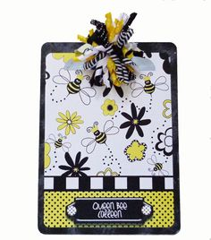 Queen Bee Altered Decorative  sc 1 st  Pinterest & Reserved for Kim OOAK altered decorated clipboard DR SEUSS quotation ...