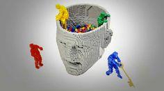 Abstract LEGO artwork