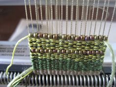 Mirrix Loom Instructions: Mirrix Tapestry/Bead Cuff