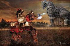 Trojan Warrior by travellerplanet.deviantart.com on @DeviantArt