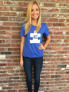 Who is lighting it up BLUE?!? It's #autismacceptance month! 20% of all sales from this top are going to Girls Night Out program who helps support teenage girls with autism in #KC ---get it now online--- www.fortuityusa.com #autismawareness #lightitupblue #april #autism #kansascity #fortgivesback