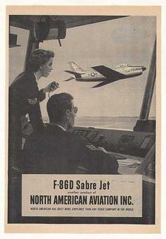 North American Aviation F-86D Sabre Jet (1953)
