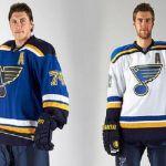 The St. Louis Blues Reveal New Jerseys Hockey News, Nhl News, Hockey Stuff, Blues Nhl, Young Guns, St Louis Blues, Go Blue, National Hockey League, The St