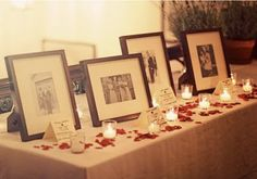 grandparents' and parents wedding pictures {all because 2 people fell in love}