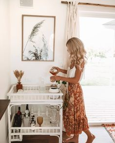 An Old House into Our New Home - The Blitz Reno – Down The Rabbit Hole Wines - Bar Cart by Byron Bay Hanging Chairs - Spell Skirt - Elise Cook Home Design, Interior Design, The Blitz, Up House, Built In Wardrobe, Home Fashion, Home Decor Inspiration, Sweet Home, Bedroom Decor