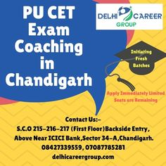 31 best pu cet entrance exam coaching in chandigarh images on