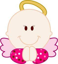 Imagenes de angeles bebes para bautizo