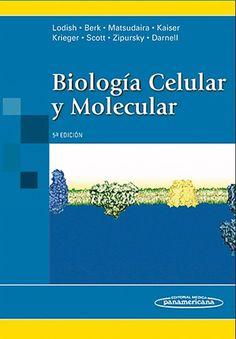 Libro Biología Celular y Molecular de Lodish. La bíología celular y molecular estudia los fenómenos patológicos que pueden suceder en el interior de las células y del organismo después de la entrada de un virus o enfermedad.