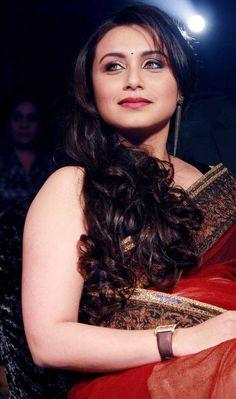 Rani Mukerji in saree pic