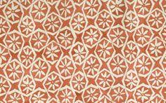 Andaluz in Paprika from Carolina Irving Textiles #fabric #hemp #orange