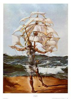 Salvador Dali- THE SHIP