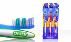 Groupon - 12-Pack of Oral B Toothbrushes in [missing {{location}} value]. Groupon deal price: $9.99
