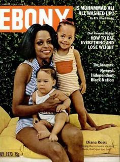 """""""If loving them means spoiling them, then that's just too bad"""". Ebony Magazine July 1973."""