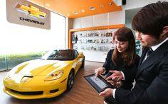 고객 판매 서비스의 질 향상을 위해 국내 자동차 업계 최초로 스마트 전자계약 시스템을 도입