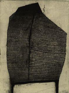 Kim Van Someren Fort 11 etching/aquatint/chine colle 9″x 12″ 2011