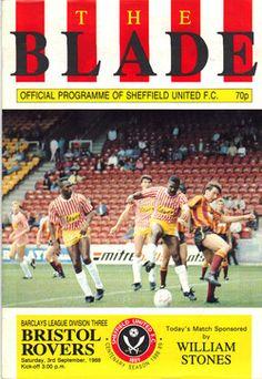 Sheffield United, 3-September-1988