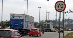 #São Paulo: Prefeitura de SP inicia troca de placas de velocidade da Marginal Pinheiros