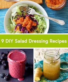 9 Quick and Easy Salad Dressing Recipes
