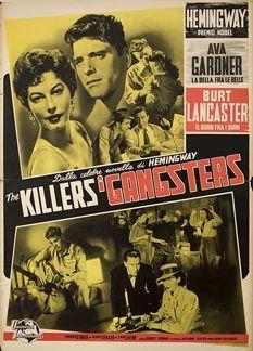 Posteritati: KILLERS, THE R1957 Italian 19x27