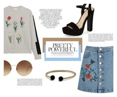 """""""'Education is the most powerful weapon which you can use to change the world' - (Nelson Mandela)"""" by punkrockmeansfreedom ❤ liked on Polyvore featuring Steve J & Yoni P, Miss Selfridge, Jessica Simpson, Victoria Beckham, Whiteley and David Yurman"""