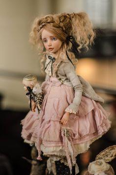 Is Porcelain China Christmas Elf Doll, Polymer Clay Dolls, Doll Repaint, Ooak Dolls, Custom Dolls, Ball Jointed Dolls, Doll Face, Vintage Dolls, Beautiful Dolls