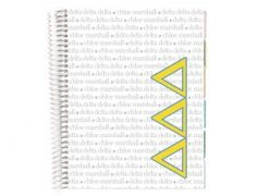 Great news sistahs... the Life Planner we all know and love is now reppin our beloved Tri Delts! Does it get any better than this?!