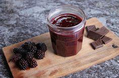 Brombeer Schokoladen Marmelade