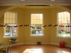 Colorful party garland #party #garland