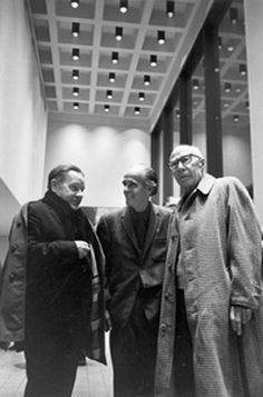 Lawrence Durrell, Lawrence Clark Powell, & Henry Miller