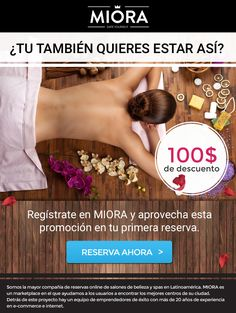 Miora email design Spas, Email Design, Web Design, Landing, Lounges, Beauty, Design Web, Website Designs, Site Design