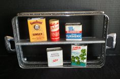 Unique Spice Rack Repurposed from a Vintage by ARepurposedLife12