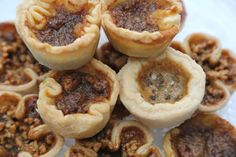 A variety of Butter Tarts, Butter Tarts, Cookie Bars, Cheesecake, Muffin, Cookies, Breakfast, Sweet, Desserts, Food