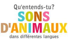 ESL - Sons d'animaux