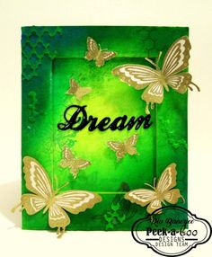 Bold butterflies Stamp
