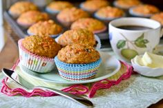 Carrot Cake Muffins by Full Fork Ahead, originally from Southern Living magazine, April 2011.