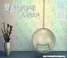 Sims 4 CC's - The Best: Wallpaper by My Sims 4 World