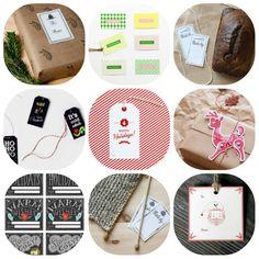collection of free printable christmas-tags