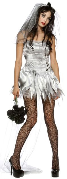 dead bride costume- like this but a prostitute