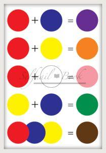 051214セルフジェルネイルカラーの作り方 Mixing Primary Colors, Mixing Paint Colors, Color Mixing Guide, Color Mixing Chart, Color Blending, Icing Color Chart, Food Coloring Chart, Disney Canvas Art, Colours That Go Together