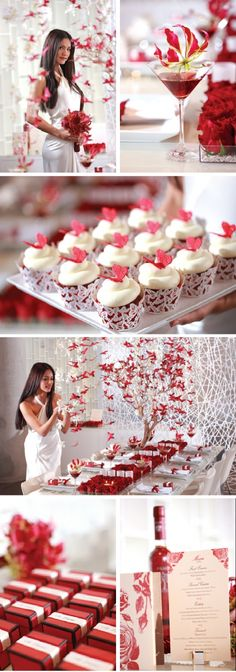 Red Butterfly Wedding » Love Notes Wedding Blog