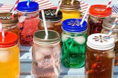 Mason Jar #americanproduct #lecomptoiramericain #madeinUSA #americanmade #Mason #jar #Ball #caps #couvercles #detox #DETOXWATER #Citronade #limonade #Bocaux #bocal