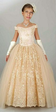 Cheap corset short prom dress, Buy Quality corset bodice wedding dress directly from China corsets stories Suppliers: Champagne Flower Girl Dresses Off Shoulder Lace Girls' Pageant Dresses Little Girls Ball Gown Flower Girls Dresses Corset Back Toddler Flower Girl Dresses, Princess Flower Girl Dresses, Ivory Flower Girl Dresses, Little Girl Dresses, Flower Girls, Dress Girl, Girls Pageant Dresses, Gowns For Girls, Wedding Dresses For Girls