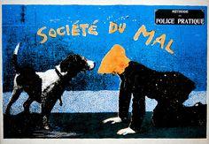 """""""Societe du Mal"""" poster"""