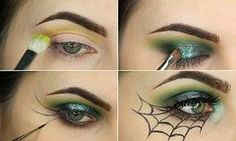 Georgia Rose reveals how to create Halloween spider-themed make-up   Daily Mail Online