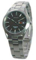 Seiko Full Titanium Case and Bracelet Water Resistant 50M Watch #SGG599P1 (Men's Watch)