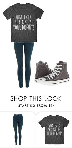"""Untitled #201"" by cruciangyul on Polyvore featuring Topshop and Converse"