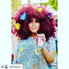 #Repost @deekayjay ・・・ Colorful. AFROPUNK.... - Seriously Natural