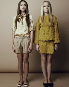 Lamantine Paris photography by Lee Clower, teenage fashion for winter 2012// proportion