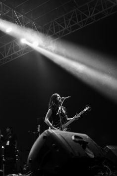 Bass/Lead Vocal from Kelompok Penerbang Roket, John Paul Patton at Soundsations.