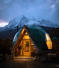 On those cold and foggy nights in the mountains there is always a place that's always warm.  Welcome Dome | Shot by @taylormichaelburk  #Hiking #Relax #Ecotourism #EarthPorn #Hotel #SouthAmerica #Traveltheworld #Traveldaily #Chile #Chilegram #Outdoors #Mountains #splendid_earth #wildernessculture #earthfocus #nakedplanet #earthporn #outdoortones #lifeofadventure #nature #photography #wild #Travel #Traveltheworld #Traveldaily #Chile #Chilegram #Outdoors #Mountains #hotelcheckers